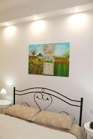 Camera Del Papavero - Particolare letto