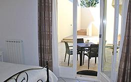 Camera Del Papavero - Porta finestra e veranda