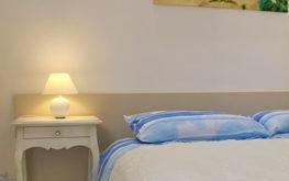 Camera Ulivo - Particolare letto