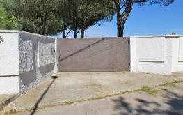 Giardino - Cancello d'ingresso