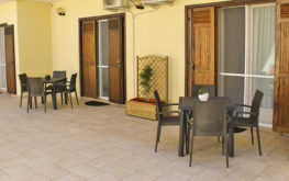 Giardino - Particolare veranda